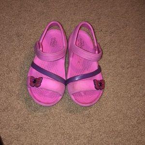 Crocs strap sandals